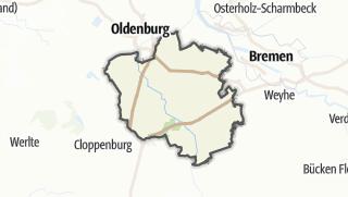 地图 / Oldenburg