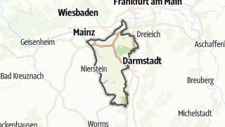 מפה / Gross-Gerau