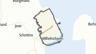 Map / Wilhelmshaven