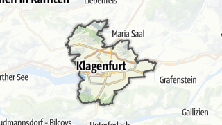 Karte / Klagenfurt am Wörthersee (Stadt)