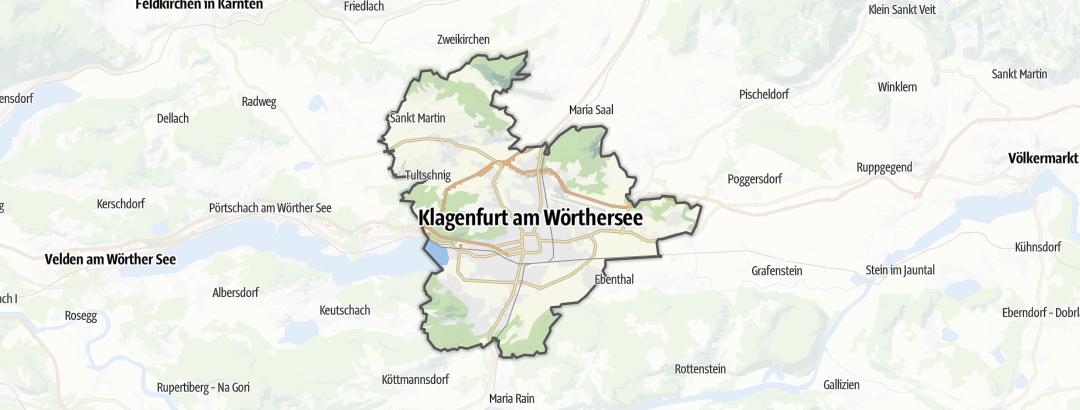 Mappa / Escursioni a Klagenfurt (città)