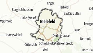 Karte / Bielefeld