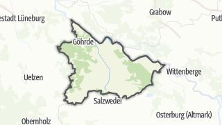 Cartina / Luechow-Dannenberg