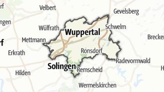 Karte / Wuppertal