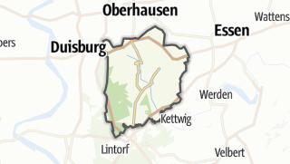 Karte / Mülheim an der Ruhr