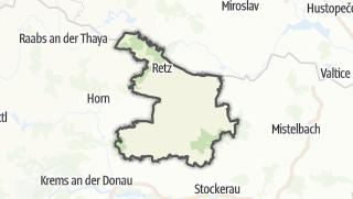 מפה / Hollabrunn