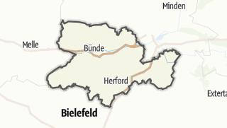 Karte / Herford