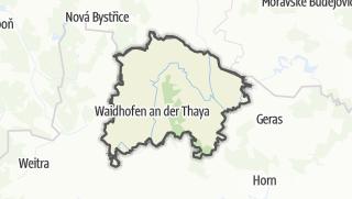 מפה / ווידהורפן אן דר תאיה