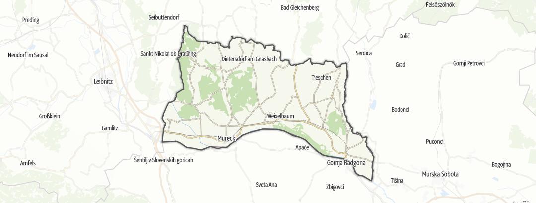 Mappa / Trekking a Radkersburg