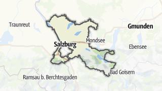 Karte / Salzburg-Umgebung