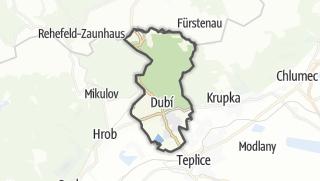 מפה / Dubí