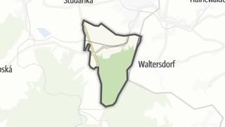מפה / Dolní Podluží