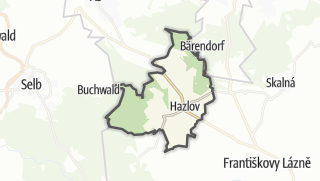 Karte / Hazlov
