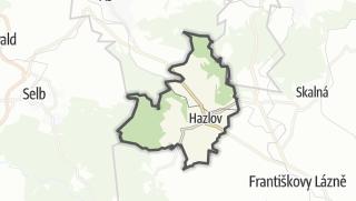 Carte / Hazlov