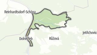 Karte / Hrensko