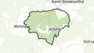 Karte / Jáchymov