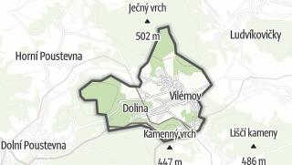 מפה / Vilémov