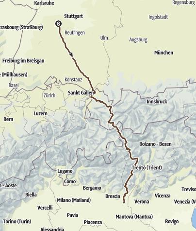 Karte / Transalp 2015 - Variante J01