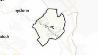 Mapa / Alsting
