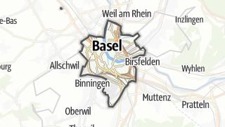 Térkép / Basel