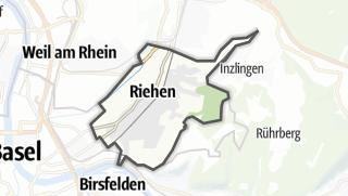 Térkép / Riehen