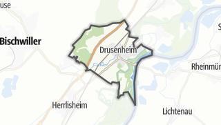 Mapa / Drusenheim
