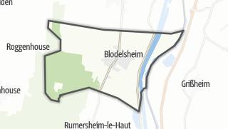 מפה / Blodelsheim