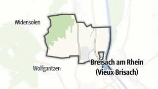 מפה / Biesheim