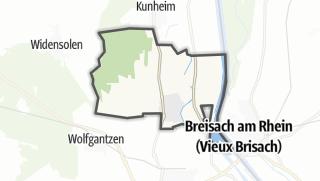 Mapa / Biesheim