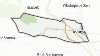 מפה / Astorga