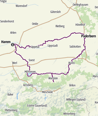 Map / Tourenplanung vom 14.05. 2015