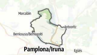 Karte / Ezcabarte