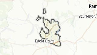 Karte / Valle de Yerri