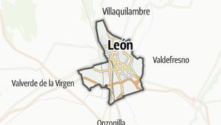 מפה / León