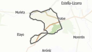 Karte / Igúzquiza