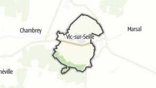 Mapa / Vic-sur-Seille