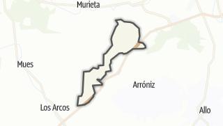 Karte / Villamayor de Monjardín