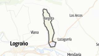 Karte / Bargota