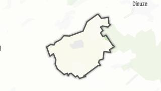 Mapa / Blanche-Eglise