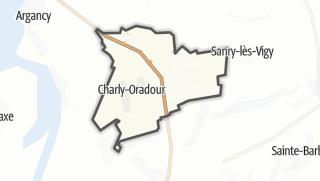 Mapa / Charly-Oradour
