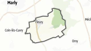 Mapa / Fleury