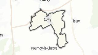 Mapa / Cuvry