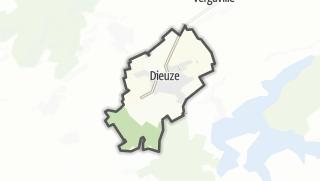 Mapa / Dieuze