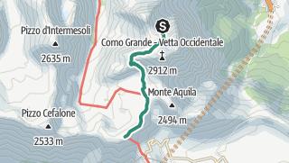 Karte / Rif Francetti - Rif Duca
