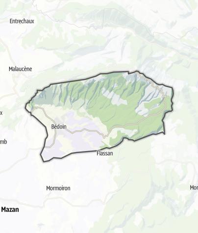Map / Bédoin