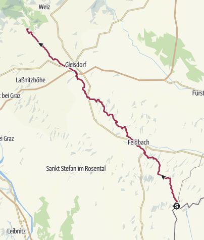 Cartina / St. Anna am Aigen - Gschwendt