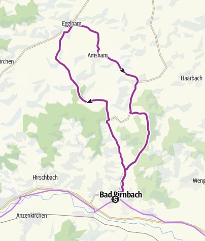Karte /  Panoramarunde Radrundtour 9