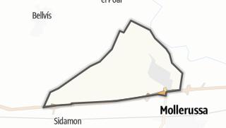 地图 / el Palau d'Anglesola