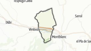 地图 / l'Espluga de Francolí