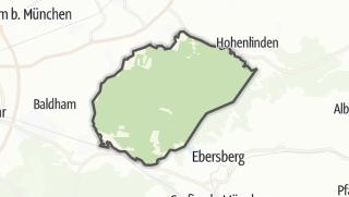 Cartina / Ebersberg, comunità non registrata